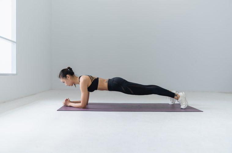 women plan workout