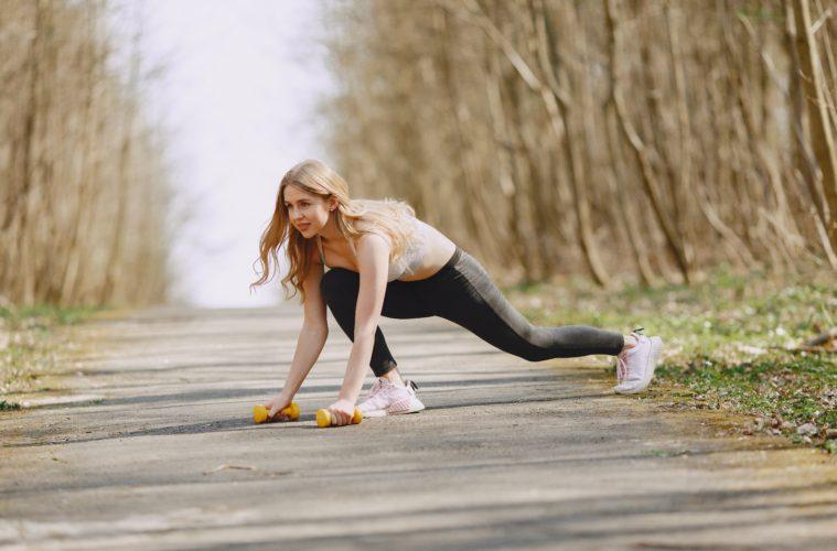 woman exercise cardio