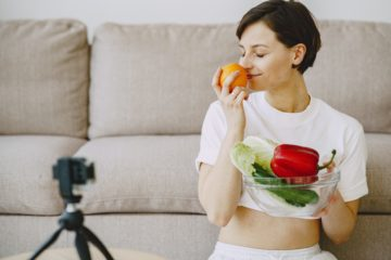 woman, nutrition, diet