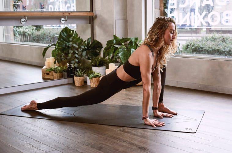 woman yoga pose