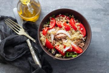 quinoa and tuna salad