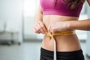 woman belly fat