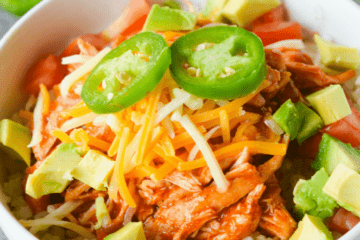 Chicken Enchilada Bowl