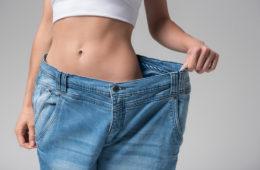woman lose fat