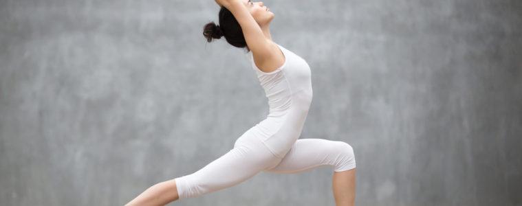 women yoga pose