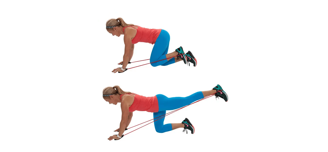 resistance butt exercise